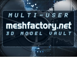 Multi-User 3d Model Vault Subscription