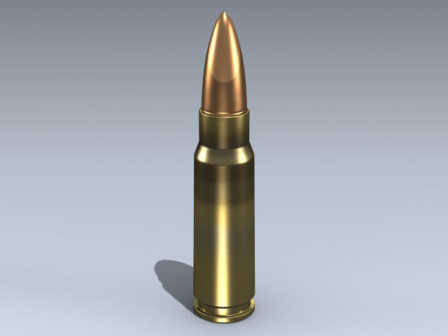 7.62 x 39 FMJ Cartridge