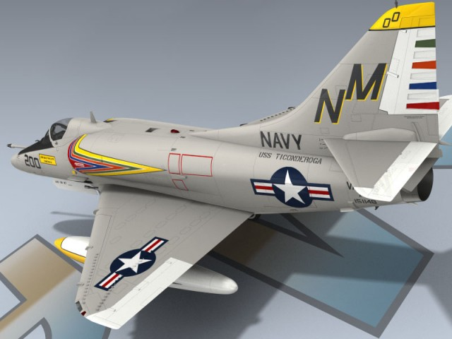 A-4E Skyhawk VA-192 USN