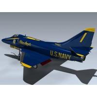 A-4F Skyhawk (Blue Angels)