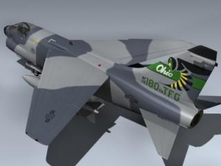 A-7D Corsair II (OH ANG)