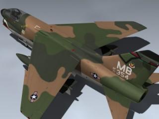 A-7D Corsair II (SEA)