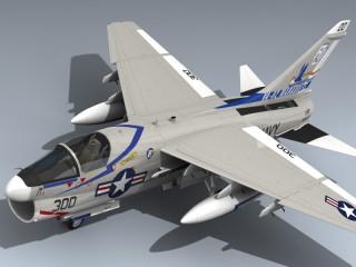A-7E Corsair II (AJ300)