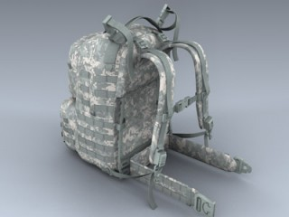 Army Medium Rucksack (ACU)
