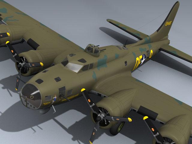 B-17F Flying Fortress (Memphis Belle)