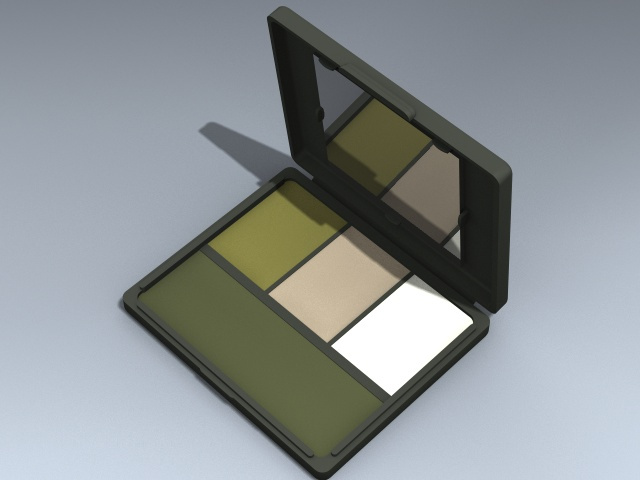 Camouflage Face Paint Compact