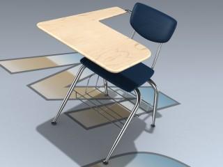 Desk (Student Wide Tablet Arm)