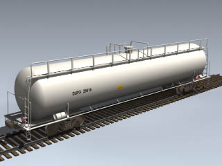 DUPX Chemical Tank Car