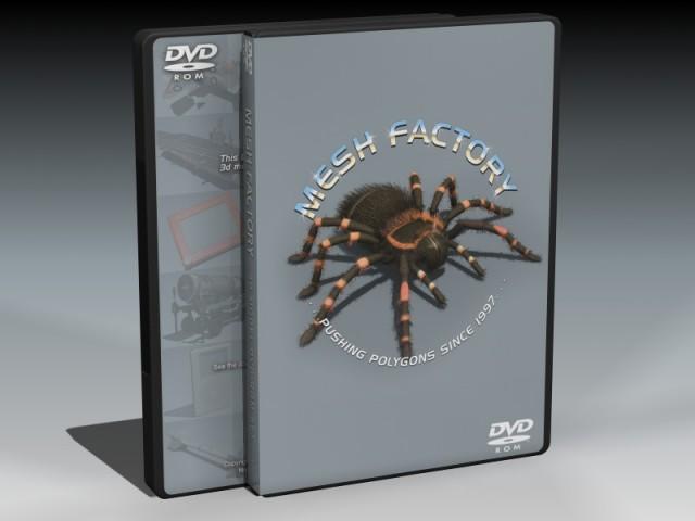 3D Model DVD-ROM Set