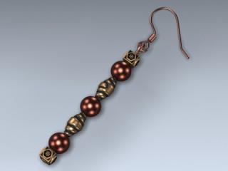 Earring (Copper Dangle)
