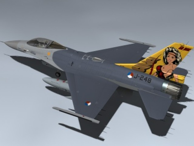 F-16AM Falcon (Dirty Diana)