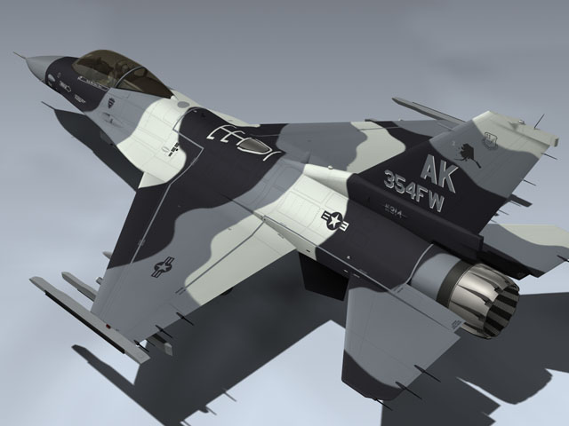F-16C Arctic Flanker (Red 14)