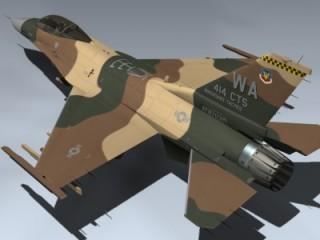F-16C Fulcrum (Red 21)