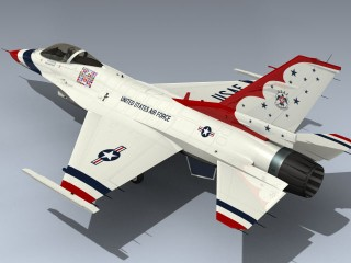 F-16C Falcon (Thunderbirds 2012)