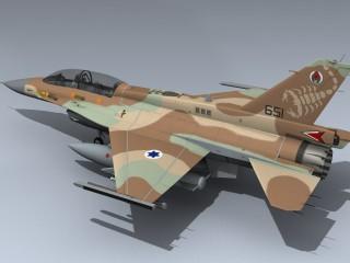 F-16D Brakeet IDF