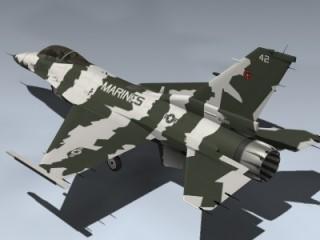 F-16N Falcon (USMC)