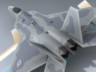 F-22A Raptor USAF