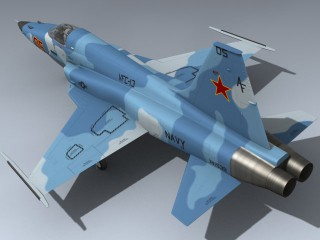 F-5E Tiger II (Red 05)