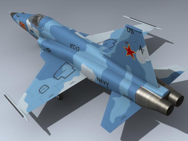 F-5E Tiger II (Red 05)