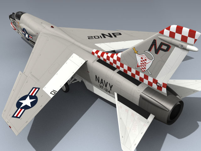 F-8J Crusader (VF-24 CO)