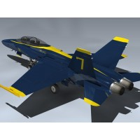 F/A-18B Hornet (Blue Angels)
