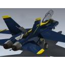 F/A-18B Hornet (Blue Angels)