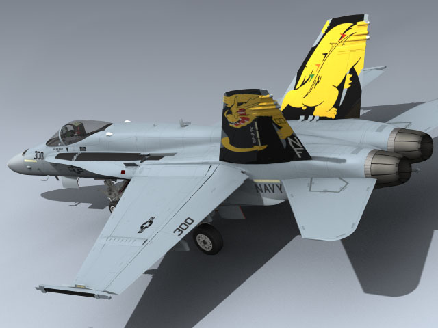 F/A-18C Hornet (VFA-192 CAG)