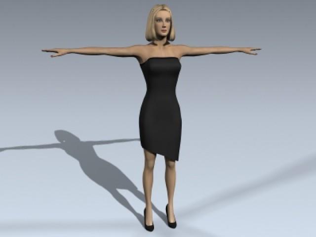 Female Human 1A