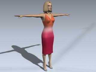 Female Human 1B