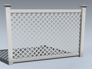 Fence (Vinyl Lattice)