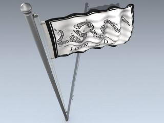 Flag (US Join Or Die)