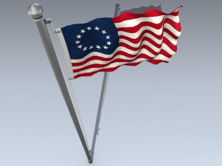 Flag (USA Betsy Ross)