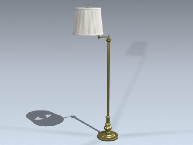 Floor Lamp (Swing Arm)