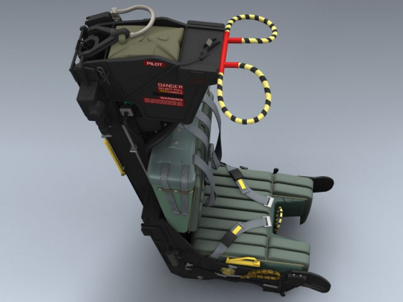 Gru7a Ejection Seat 3d Model By Mesh Factory