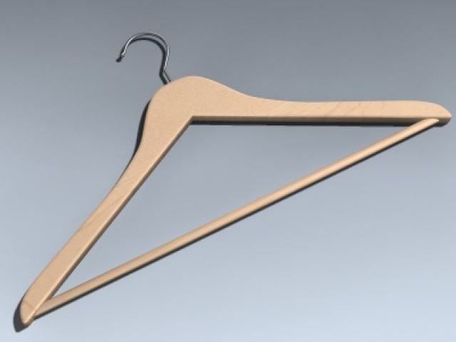 Hanger (Wooden)