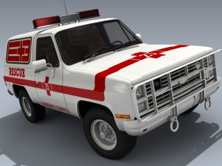 Chevy K5 Blazer (1984 Fire Rescue)