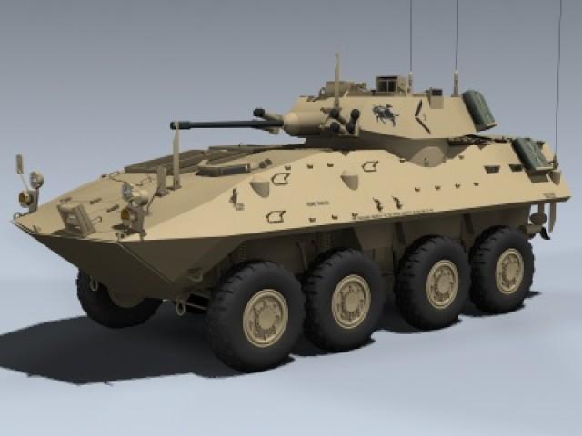LAV-25 Piranha (USMC-Desert)