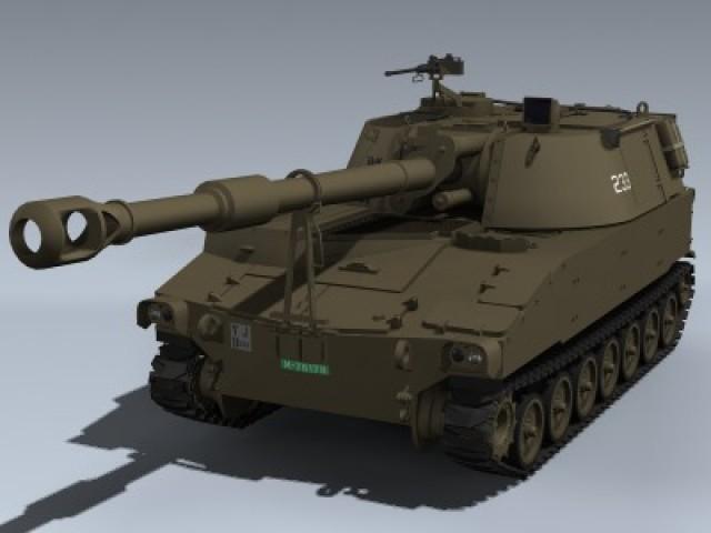 M109A2 (Swiss Army)