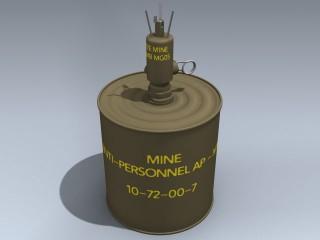 M16 AP Mine