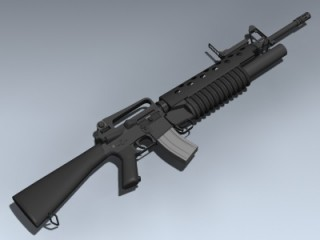 M16A2 With M203