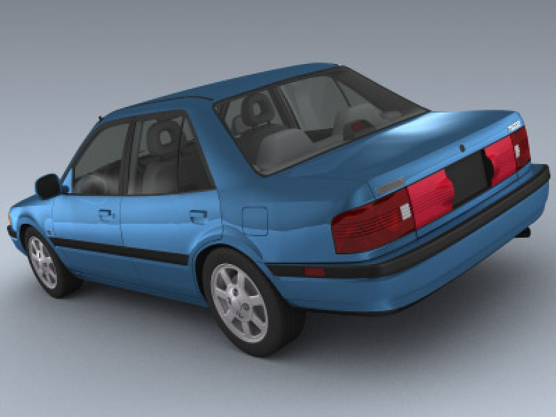 mazda protege 1993 3d model by mesh factory mazda protege 1993 3d model by mesh