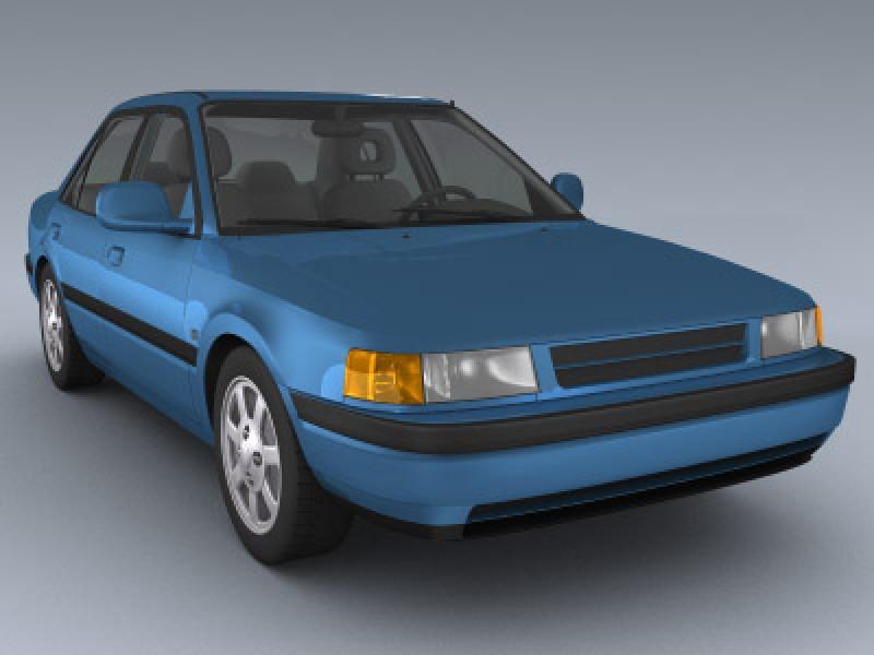 mazda protege 1993 3d model by mesh factory mazda protege 1993 3d model by mesh