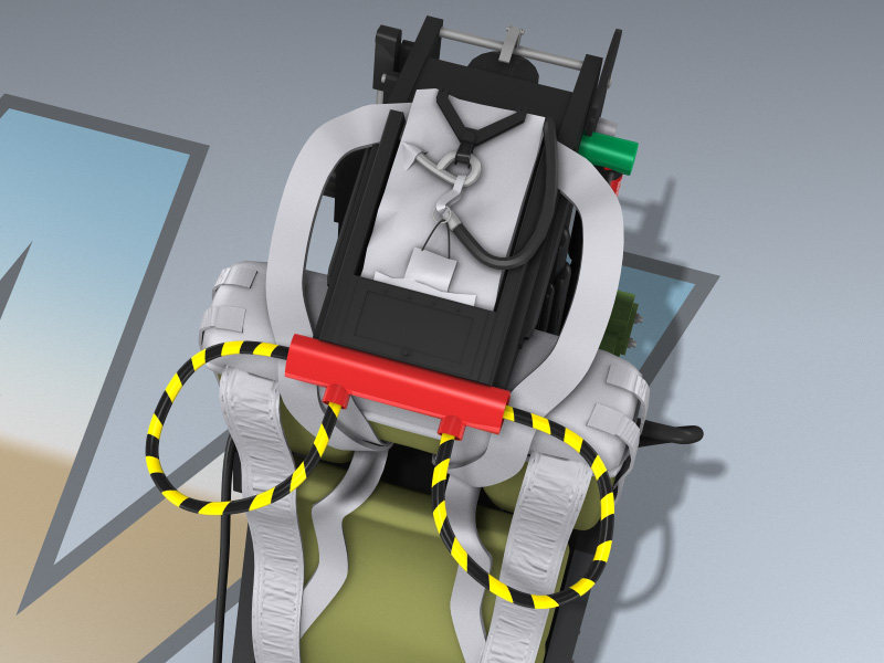 Martin-Baker Mk 7 Ejection Seat 3d Model by Mesh Factory