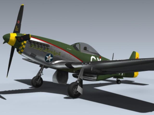 P-51D Mustang (Miss Marilyn II)