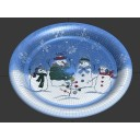 Plate (Snowmen)
