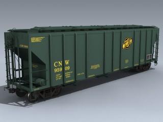 PS2CD 4427 Covered Hopper (CNW)