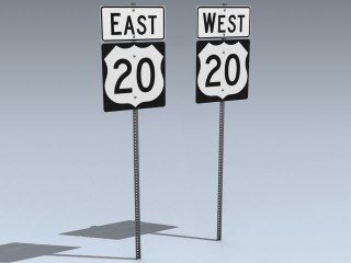 Road Signs (US 20 East West)