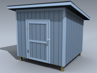 Shed (Utility Lean-to)