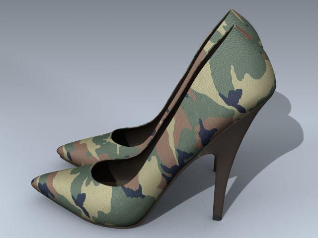 Shoe (Camouflage Pump)