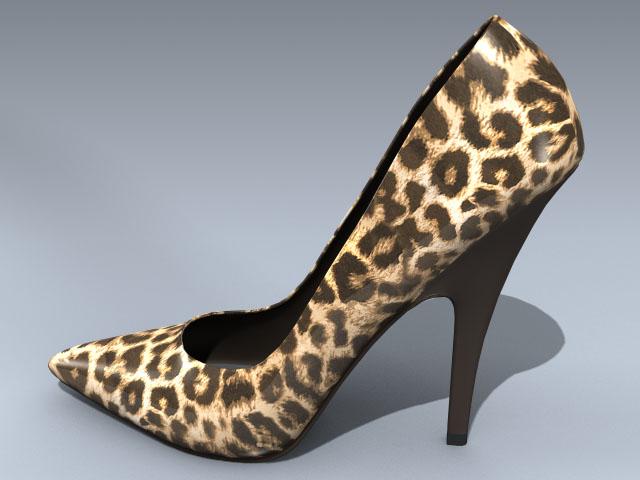 Shoe (Leopard Pump)